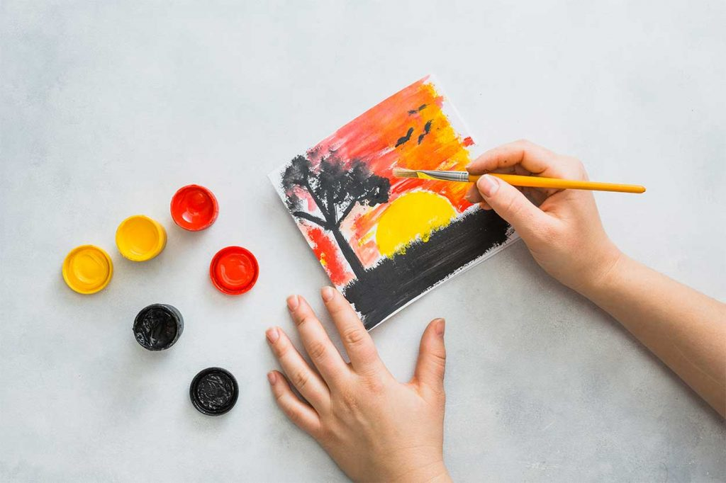 معرفی بهترین کلاس نقاشی اردبیل