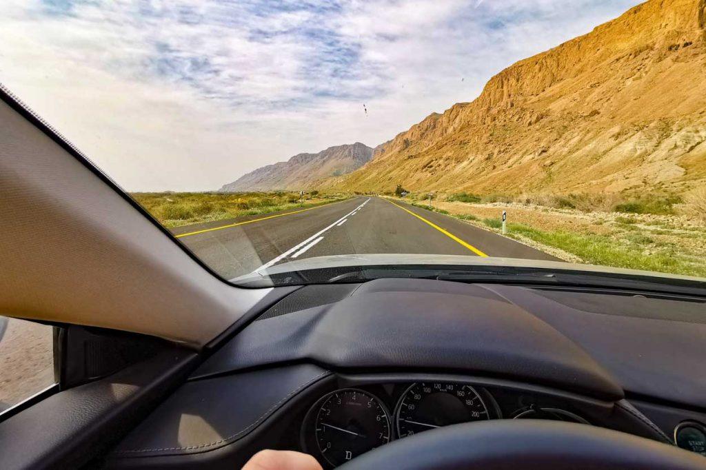 رانندگی شرق تهران