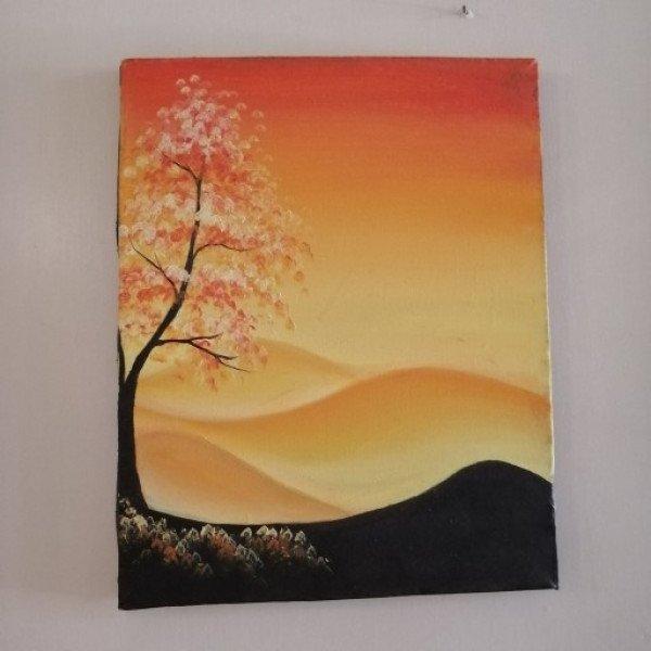 کلاس نقاشی رنگ روغن