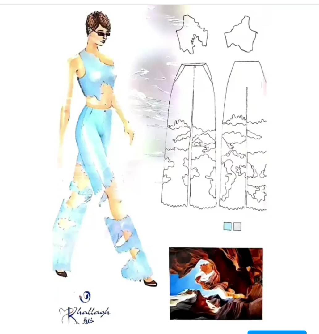 کلاس طراحی آناتومی و لباس